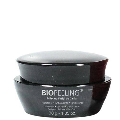Biopeeling Máscara Facial Caviar Biomarine - Hidratante Facial 30g