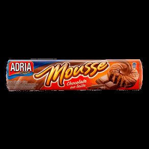 Biscoito Adria Mousse Recheado Chocolate ao Leite 150g