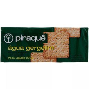 Biscoito Água e Gergelim Piraquê 200g