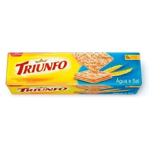 Biscoito Água e Sal 200g - Triunfo