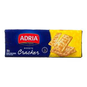 Biscoito Crackers Original Adria 200g