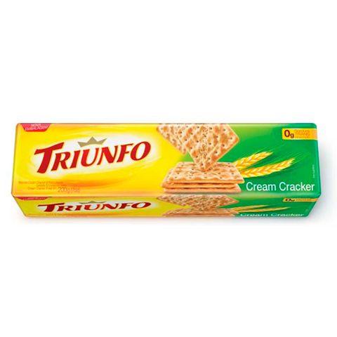 Biscoito Cream Cracker 200g - Triunfo