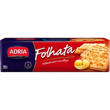 Biscoito Cream Cracker Folhata Adria 200g