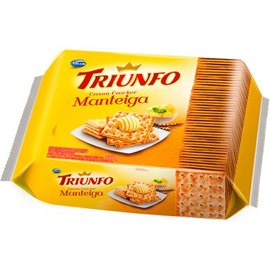 Biscoito Cream Cracker Manteiga Triunfo 375g