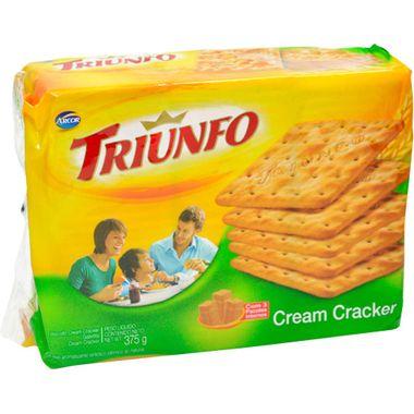 Biscoito Cream Cracker Triunfo 375g