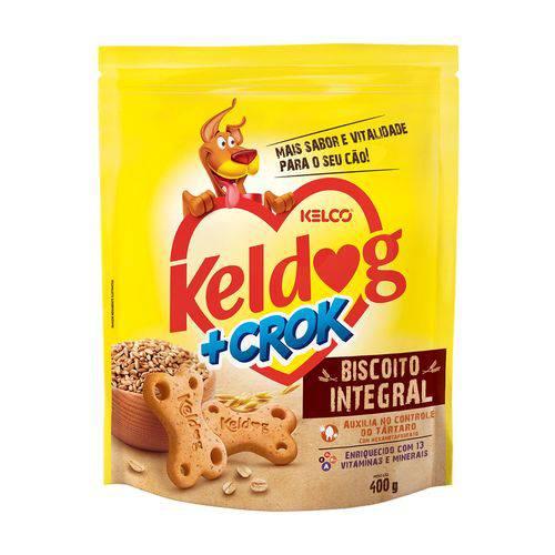 Biscoito +crok Integral Keldog 400g