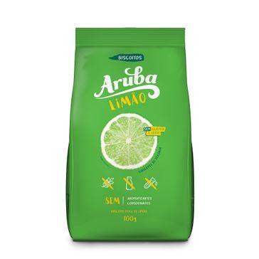 Biscoito de Limão Sem Glúten - Aruba - 100g