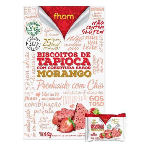 Biscoito de Tapioca com Morango 60g