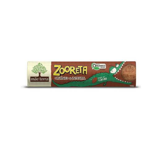 Biscoito Integral e Orgânico Cacau Zooreta Mãe Terra 110g
