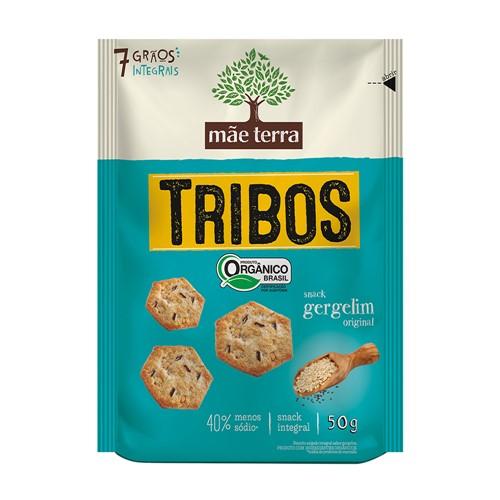 Biscoito Integral e Orgânico Tribos Sabor Gergelim Original com 50g