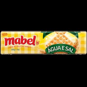 Biscoito Mabel Água e Sal 200g