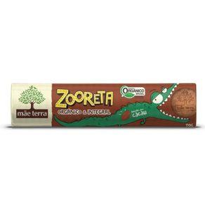 Biscoito Orgânico Zooreta Sabor Cacau Mãe Terra 110g
