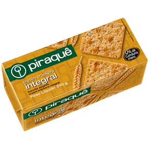 Biscoito Piraquê Cream Crackers Integral 240g