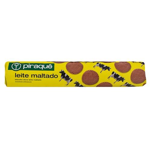 Biscoito Piraquê Leite Maltado com 200g