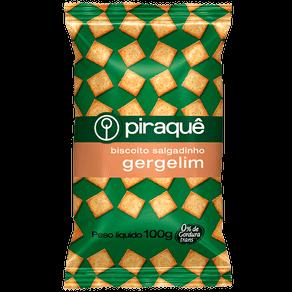 Biscoito Piraquê Salgadinho Gergelim 100g