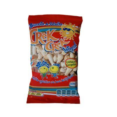 Biscoito Polvilho Linhaça/Gergelim 50g - Crek Crek