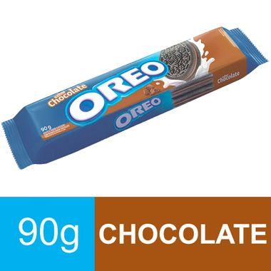 Biscoito Recheado Chocolate Oreo 90g