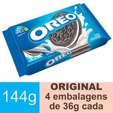Biscoito Recheado Original Oreo 144g
