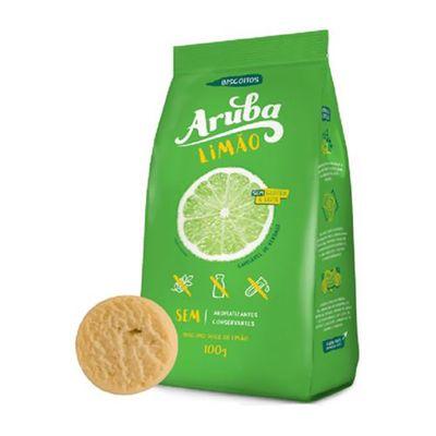 Biscoito Sem Glúten Limão 100g - Aruba