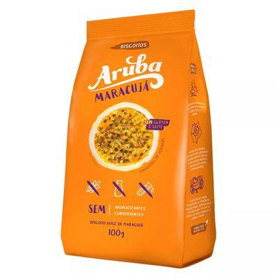 Biscoito Sem Glúten Maracujá 100g - Aruba