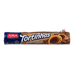 Biscoito Tortinhas Chocolate com Avelã Adria 160g