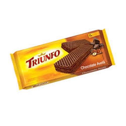 Biscoito Wafer Chocolate com Avelã 145g - Triunfo