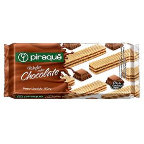 Biscoito Wafer de Chocolate Piraque 160g