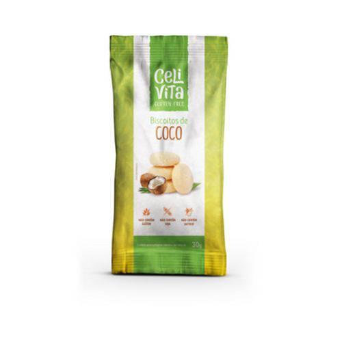 Biscoitos de Coco 30g - Celivita