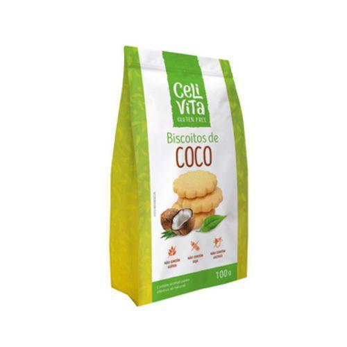 Biscoitos de Coco 100g - Celivita