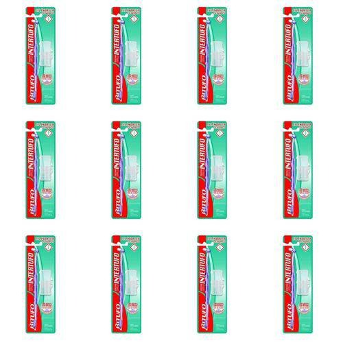 Bitufo 0240 Intertufo Cilíndrica Escova Dental (kit C/12)