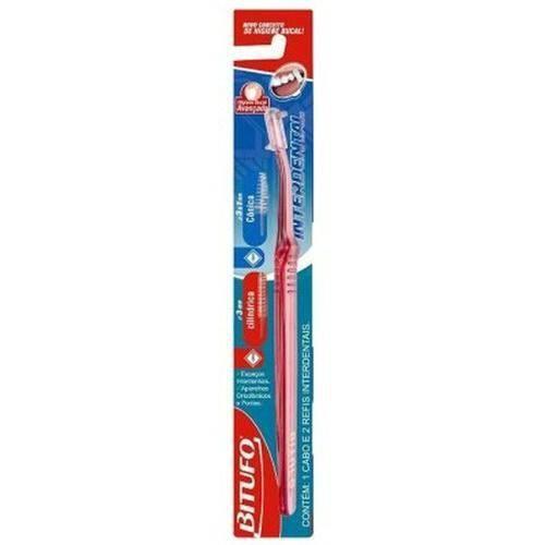 Bitufo 0257 Intertufo Cônica Escova Dental (kit C/12)