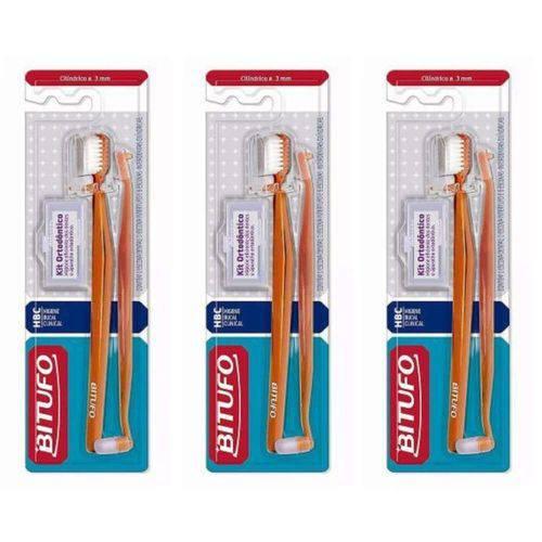 Bitufo 0226 Orto Cilíndrico Escova + 8 Itens (kit C/03)