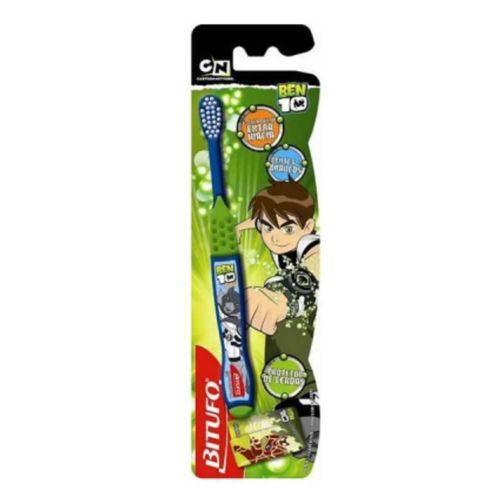 Bitufo Ben 10 Escova Dental Extra Macia + Protetor