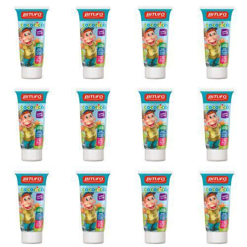 Bitufo Cocorico Creme Dental Tutti Frutti 90g (kit C/12)
