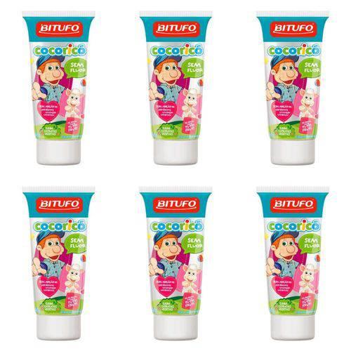 Bitufo Cocorico Gel Dental Tutti Frutti 90g (kit C/06)