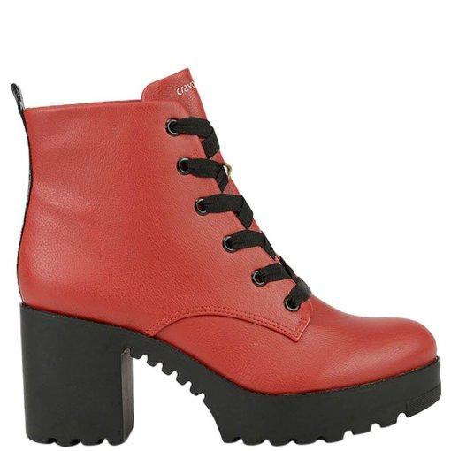 Bizz Store - Coturno Feminino Cravo e Canela New Pele Scarlet