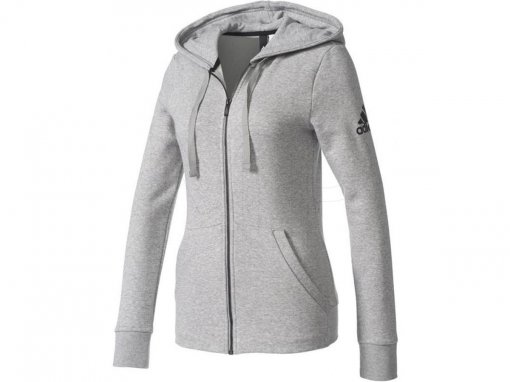 Bizz Store - Jaqueta Feminina Adidas Essentials Solid FZ Hoodie