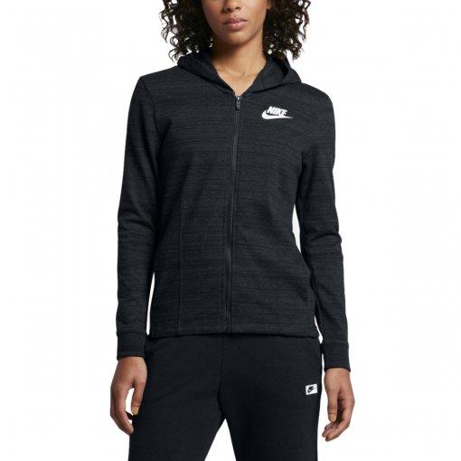 Bizz Store - Jaqueta Feminina Nike NSW AV15 Knit Preta