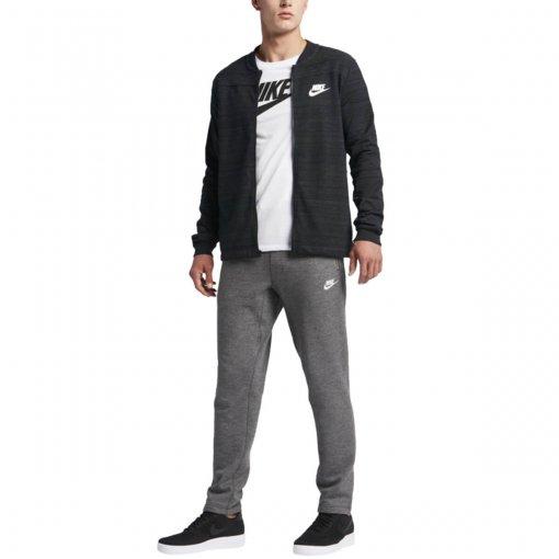 Bizz Store - Jaqueta Masculina Nike NSW AV15 Knit Preta