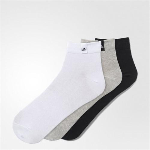 Bizz Store - Kit Meia Adidas Ankle Low 3 Peças Unissex Aa2485