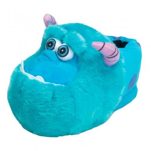 Bizz Store - Pantufa Ricsen Sulley 3D Unissex Pelúcia Azul