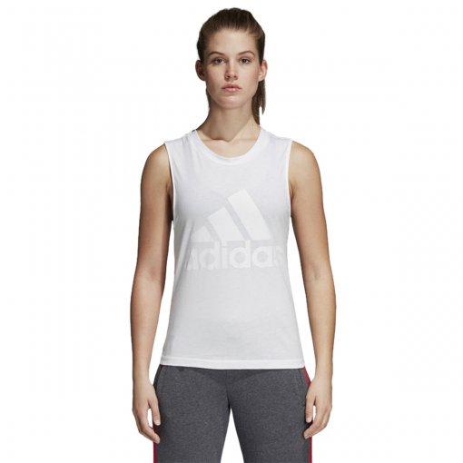 Bizz Store - Regata Feminina Adidas Ess Soli Branca