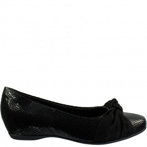 Bizz Store - Sapato Feminino Piccadilly Microfibra Preto