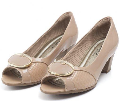 Bizz Store - Sapato Feminino Piccadilly Salto Médio