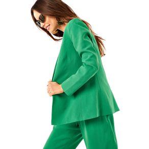 Blazer Clássico um Botão Verde Bonfim - 38