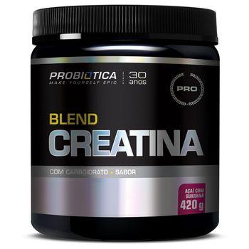 Blend Creatina 420g Açaí com Guaraná - Probiotica