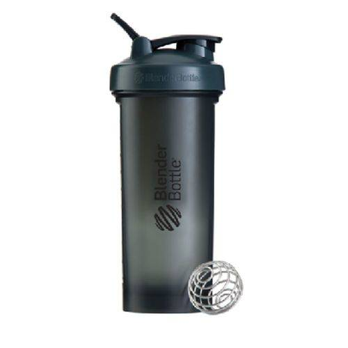 Blender Bottle Pro45 Cinza C/ Preto (1300ml) - Blender Bottle