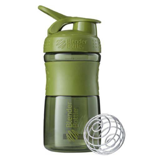 Blender Bottle Sport Mixer Verde Militar (590ml) - Blender Bottle