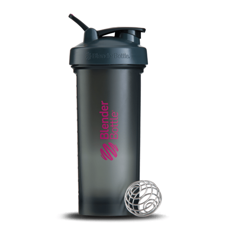 Blender PRO45 (1300ml) Blender Bottle-Cinza com Rosa