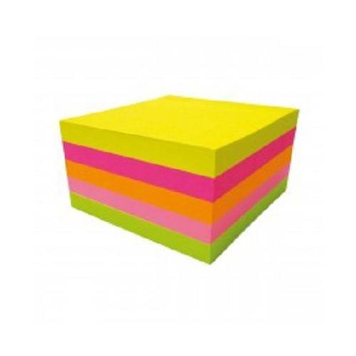 Bloco Adesivo Tilibra Neon Tili Notes 076 X 076 Mm 100 Fls Colorido 286265